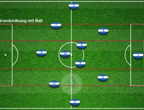 Möglichkeiten im Spielaufbau im 4-2-3-1 vs Raute, 4-3-3, 4-2-3-1