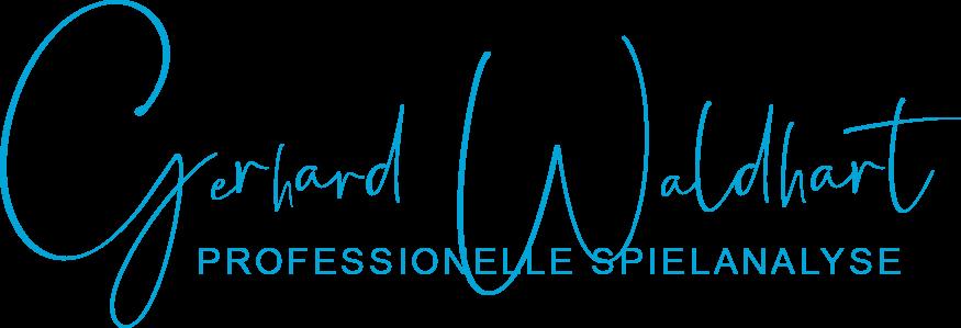 Gerhard Waldhart – Professionelle Spielanalyse Logo