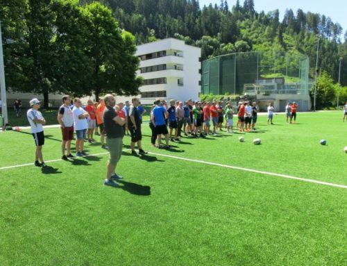 Das war die Trainerfortbildung (Kategorie 4) in Schwaz im Juni 2019