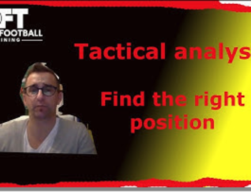 Tactical analysis – Find the right position